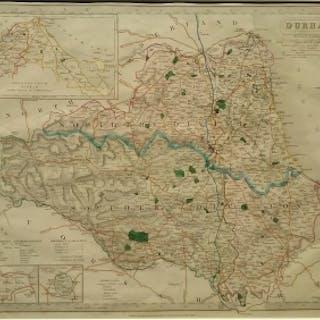 J & C Walker - Antique Map by J & C Walker
