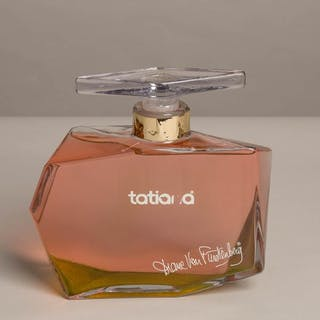 A Large Scent Bottle titled 'Tatiana' by Diane Von Fusterburg, Germany