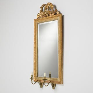 A Swedish Gustavian Giltwood Pier Mirror circa 1780