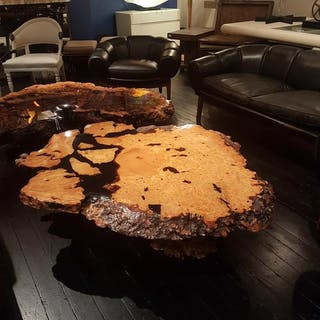 Sensational Californian Burl Root Coffee Table 1960s