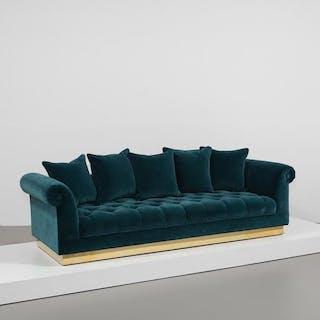 The Deep Buttoned Sofa by Talisman Bespoke