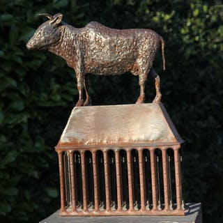 Bull on Byre