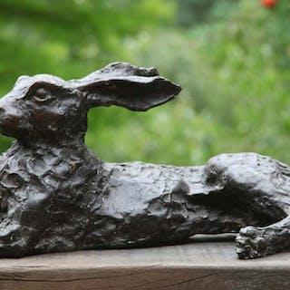 Lying Hare