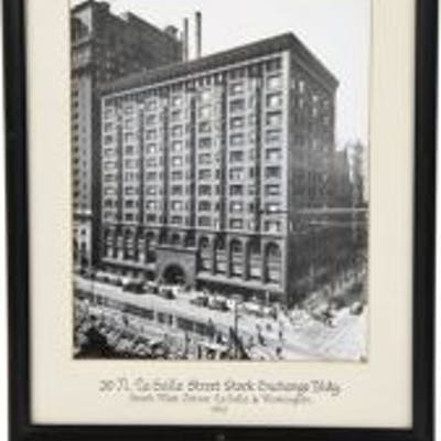 original early 1920's framed and matted gelatin silver photographic