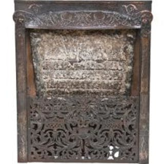 original 19th century antique american fanciful cast iron dawson residential