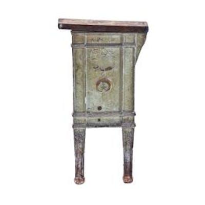 c. early 20th century ornamental cast iron interior hammond masonic