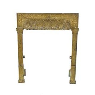 c. late 19th century metallic gold enameled american victorian era