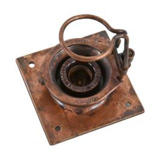 original and completely intact early 20th century american industrial
