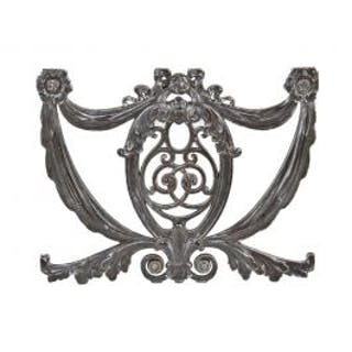 c. 1920's original american neoclassical style ornamental cast iron
