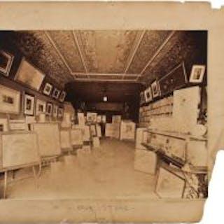 rare oversized c. 1890's original odin j. oyen matted albumen photographic