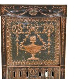 entirely original c. 1895-1905 antique american copper-plated ornamental