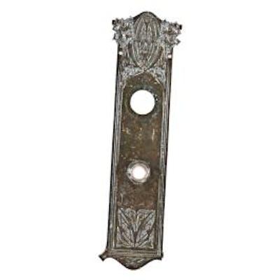 single all original bower-barff finish ornamental cast iron louis