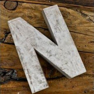 oversized cast aluminum single-sided mid-20th century michael reese