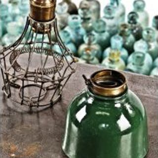 unusual and hard to find diminutive c. 1920's benjamin green porcelain