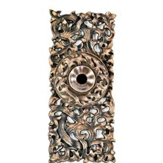 original and remarkably intact finely executed 19th century ornamental