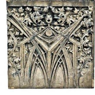 seldom found c. 1899 historically important white glazed western methodist