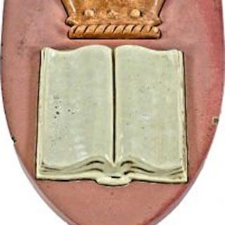 historically important glazed polychrome ornamental terra cotta r.r.