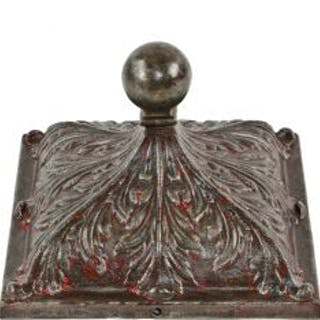 original early 20th century antique american ornamental cast iron