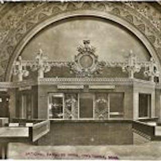 very rare original c. 1911 louis h. sullivan-designed national farmers'