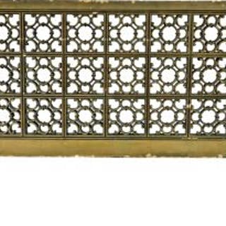 all original c. 1927 oversized lawndale theater lobby ornamental cast