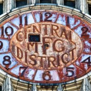 "limited edition digital photographic print entitled ""central mfg."