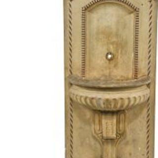 original early 20th century oversized freestanding decorative cast