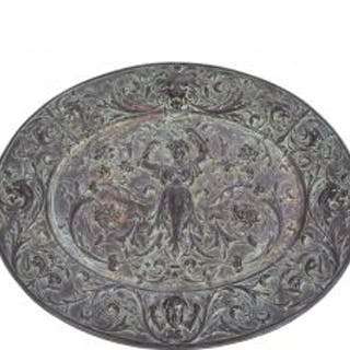 rare late 19th century ornamental patinated cast iron american radiator