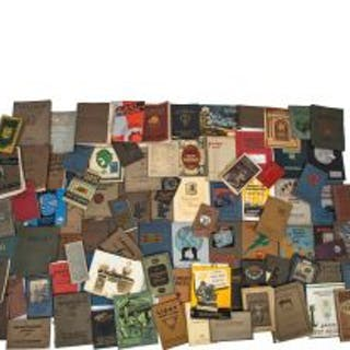 hundreds of rare original and amazingly intact late 19th and early