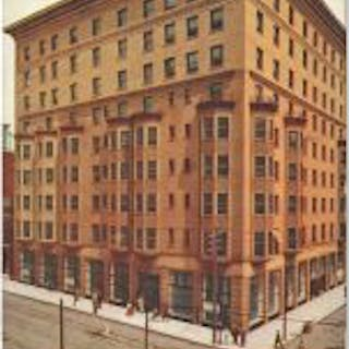 rare and richly colored adler and sullivan-designed st. nicholas hotel