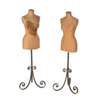 one american industrial freestanding garment factory shop dress forms