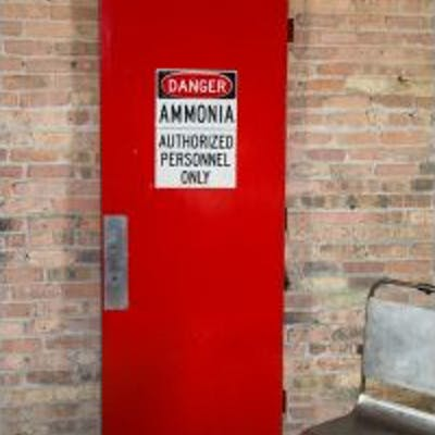 vintage american salvaged chicago cherry red painted fulton market