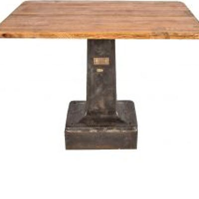 early 20th century antique american industrial heavy duty freestanding