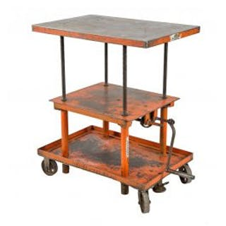 fully adjustable and thoroughly cleaned salvaged chicago three-tier