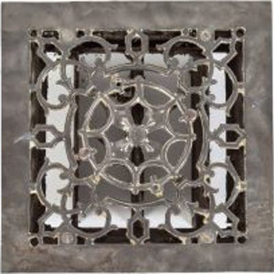 """hard to find patented 1880's ornament adjustable """"spider web"""" pattern"""