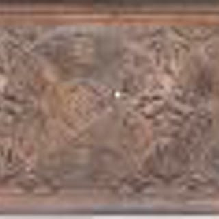 museum-quality copper-plated ornamental cast iron chicago stock exchange