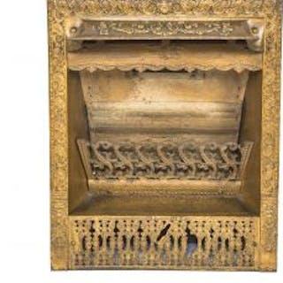 exceptional all original salvaged chicago ornamental cast iron dawson
