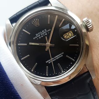 Datejust Sister 35mm Rolex Date Automatic black dial