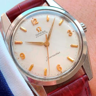 Early Omega Seamaster Automatic Explorer Dial