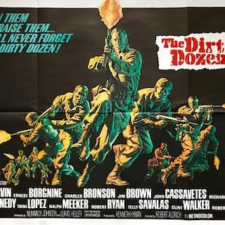 The Dirty Dozen - Vintage Movie Posters