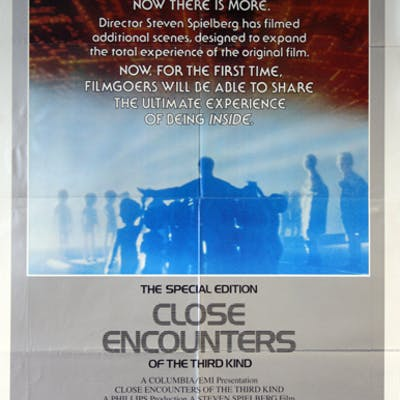 Close Encounters of the Third Kind the Special Edition - Vintage Movie Posters