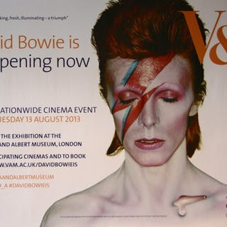 David Bowie is happening now - Vintage Movie Posters