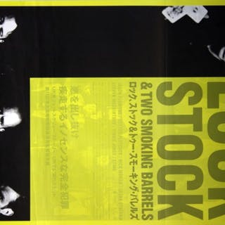 Lock Stock and Two Smoking Barrels - Vintage Movie Posters