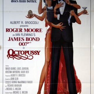 James Bond: Octopussy - Vintage Movie Posters