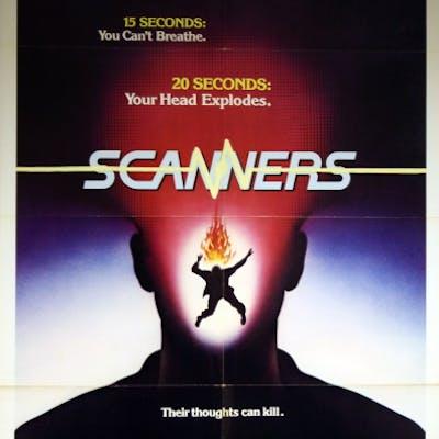 Scanners - Vintage Movie Posters