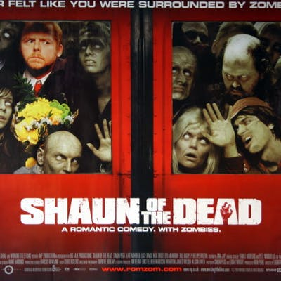 Shaun of the Dead - Vintage Movie Posters