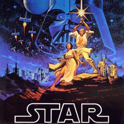 Star Wars Episode Iv A New Hope Vintage Movie Posters Barnebys