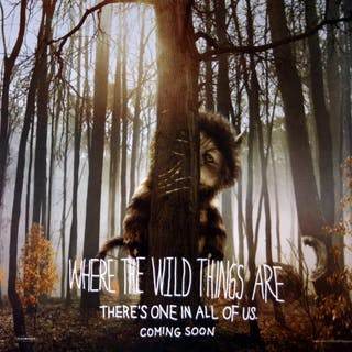Original Where the Wild Things Are Movie Poster - Spike Jonze - Fantasy