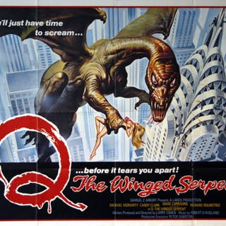 Q - The Winged Serpent - Vintage Movie Posters