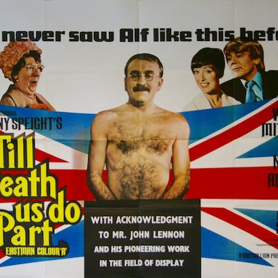 Till Death Us Do Part - Vintage Movie Posters