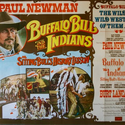Buffalo Bill and the Indians - Vintage Movie Posters | Barnebys